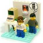 Woz And Jobs Lego Playset