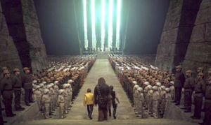 Medal Ceremony in Star Wars