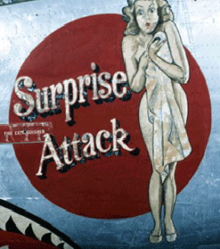Save the Girls - Surprise Attack Nose Art