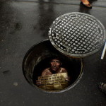 Amnesty International Manhole Ad