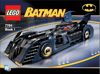 Batmobile Lego Set