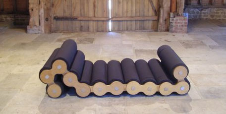 Caterpillar Shape Shifting Lounge Chair