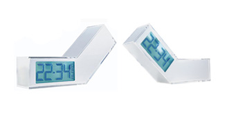 On-Off LCD Alarm Clock