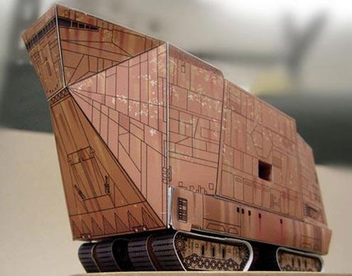 Sand Crawler Star-Wars