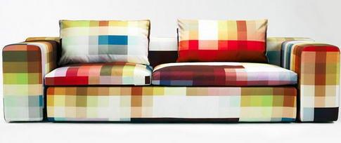 Pixel Art Couch by Cristian Zuzunaga 1