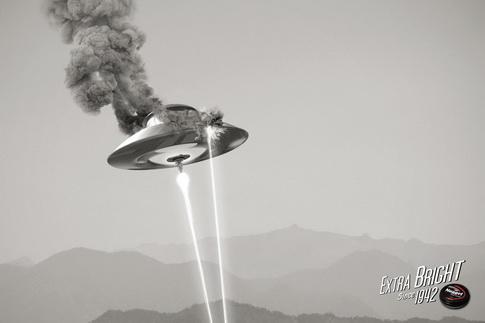 Nugget Shoe Polish UFO Commercial