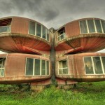 Abandoned UFO Houses in Sanjhih