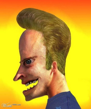 Real Life Beavis of MTV's Beavis and Butthead Fame