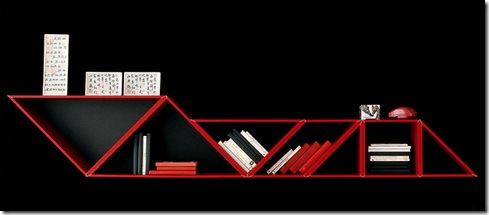 Tangram Bookshelves