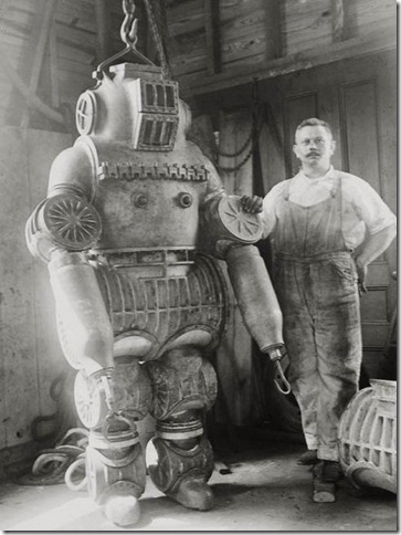 Steampunk Diving Suit