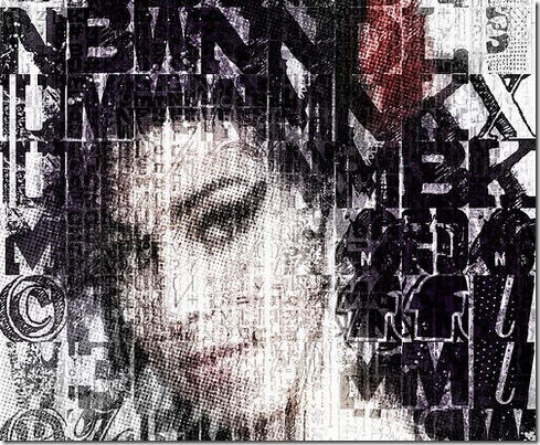 Amy Winehouse Photomosaic Collage
