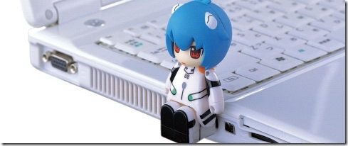 Evangelion Rei USB Memory Stick