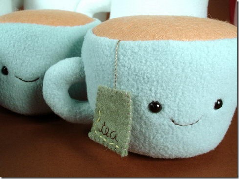 Plush Tea Cups