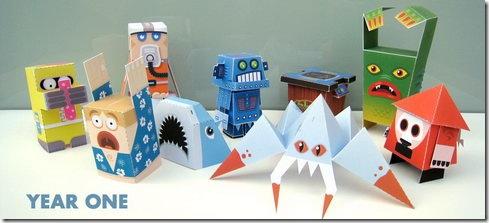 Papercraft - Marshall Alexander