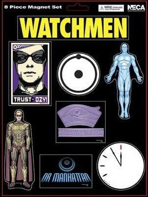 Watchmen Fridge Magnets - Ozymandias and Dr. Manhattan