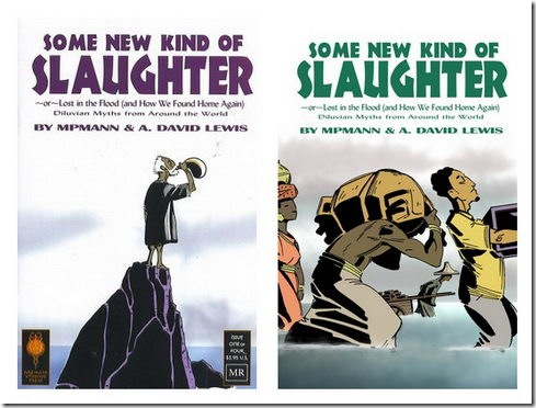 Some New Kind of Slaughter Comic Covers