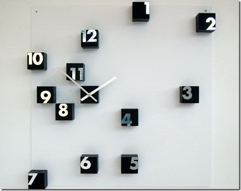Time Wenge Clock