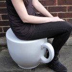 This Tea Cup Stool is Inspired By Alice in Wonderland