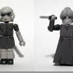 Custom Toys Based On Hitchcock's Psycho