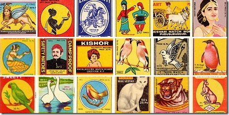 Old_Matchbox_covers_India