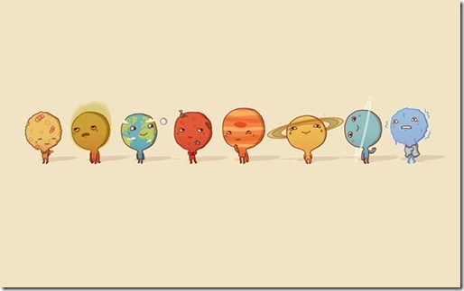 Solar-System-Wallpapers-By-Illustrator-Anneka-Tran-1