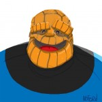 The Thing – Drawn by Apelad