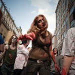 Zombies Invading Moscow – Photo Gallery