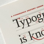 A Typographic Anatomy Lesson – Limited Edition Print