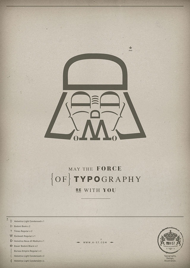 The_force_of_Typography_Darth_Vader