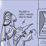 Jedi Misusing Their Force – Comic Strip