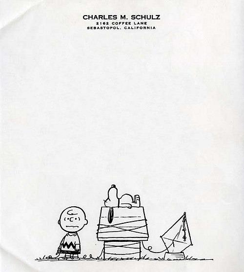 Charles-M-Schulz-Peanuts-Letterhead