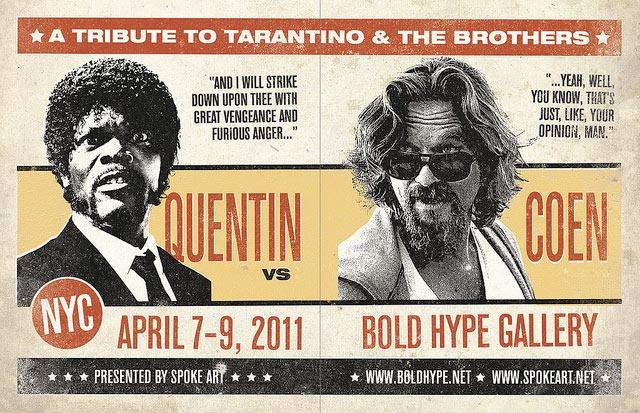 Quentin_vs._Coen_Show_Flyer_by_Greg_Gossel