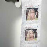 Ann Coulter Toilet Paper