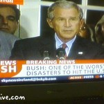 Bush confesses on Sky News