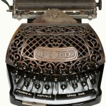 Lovely Antique Ford Typewriter