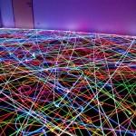 Psychedelic Roomba Swarm