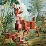Pixel Animals by Laura Bifano
