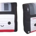 Mini Floppy Disk Pillow