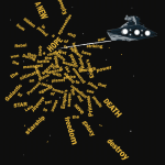 "Star Destroyer Taking on The ""Star Wars"" Opening Crawl"