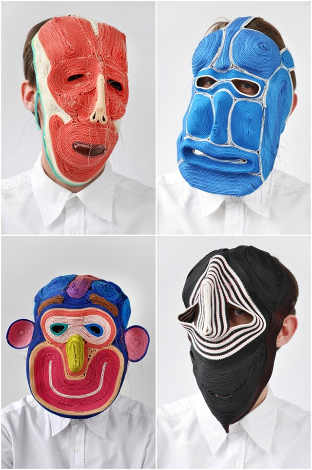 Bertjan-Pot-Bizzare-and-Colorful-Masks