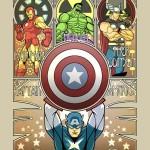 Art Noveau Avengers