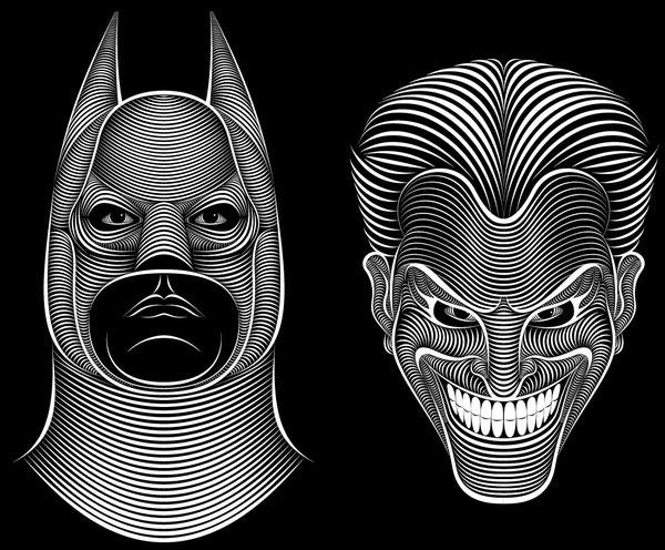 Batman-Versus-Joker---Illustrations---Patrick-Seymour-2