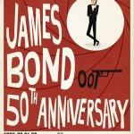 James Bond 50th Anniversary Prints by Max Dalton