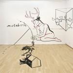 """""""Memor – Mutabor"""" – 3D Tape Art Installation by Joerg Mandernach"""
