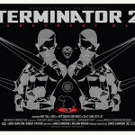 """Terminator 2″ Movie Posters by Gold Sauce"