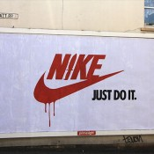 Brandalism: Street Artists Hijack Commercial Billboards in the UK