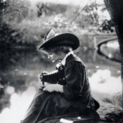 Woman with Kodak Camera, c. 1900