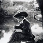 Woman with Kodak Camera, c. 1900