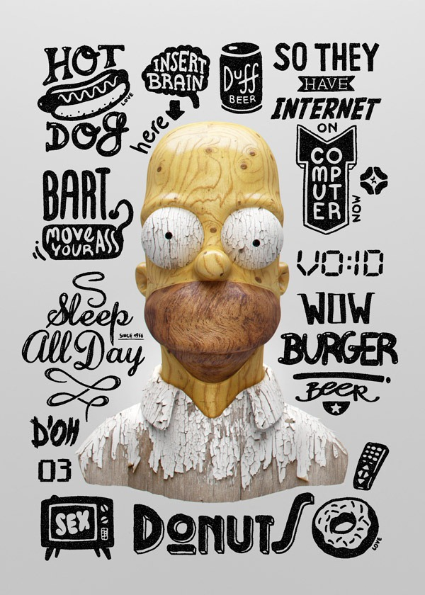 Homers-Thoughts-Michal-Sycz-Goverdose