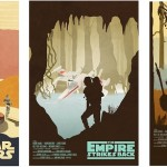 Original Star Wars Trilogy Posters by Drew Roberts